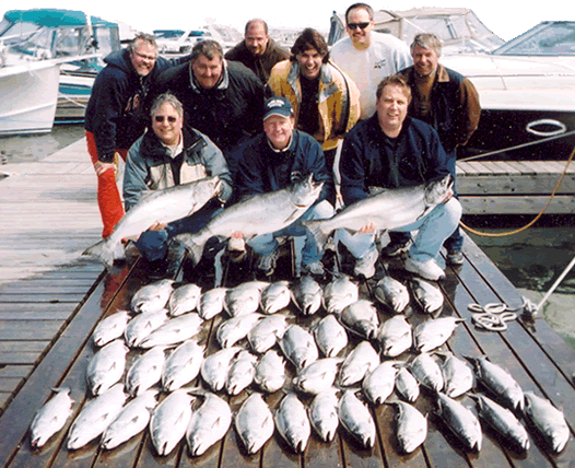 lake ontario fishing guides and charters